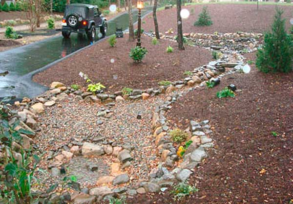 Dry Retention Pond | Mike Stacy Landscaping