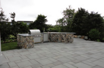 850 sqft. bluestone patio