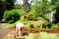 Sod installation is a quick and easy solution!
