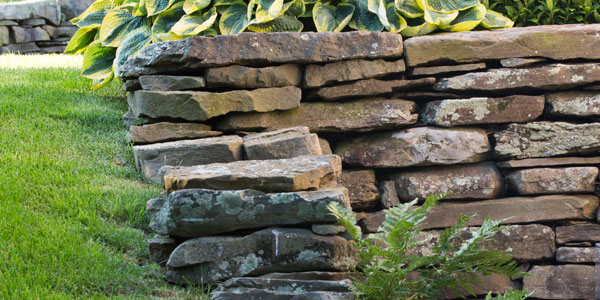 Dry Laid Stone Walls Mike Stacy Landscaping